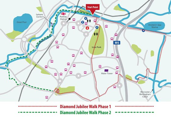Diamond Jubilee Walk